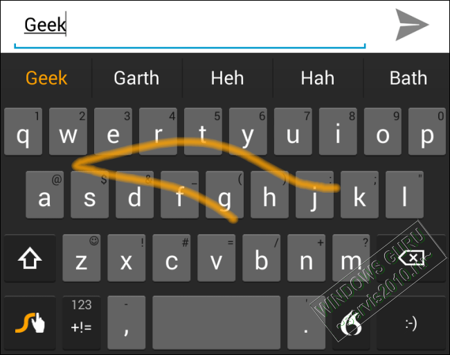 replacement keyboard in Android 2